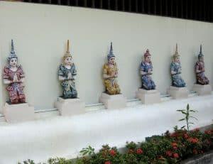 temple ornaments in Luang Prabang