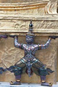 guardian ornament Grand Palace