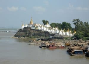Sagaing one of the Royal Cities around Mandalay