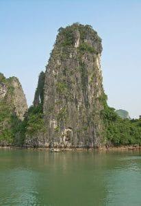 limestone karst cliff