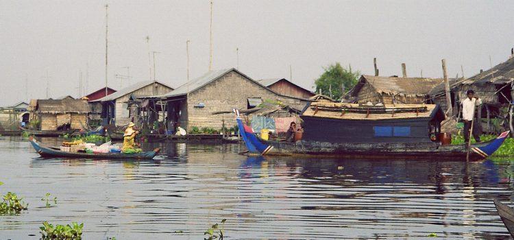 Siem Reap by express boat
