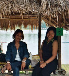 Huay Tung Tao relaxing at the lake