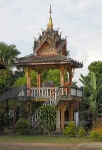 temple at countryside of Vang Vieng