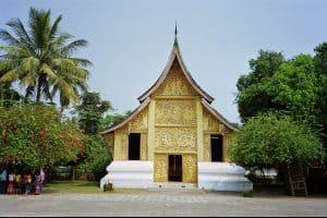 Luang Prabang World Heritage Temples: Chariot Hall at Wat Xieng Thong