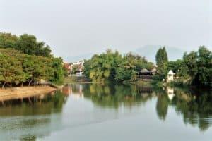 scenery at Wang river