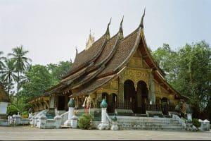World Heritage Temples at Luang Prabang: Wat Xieng Thong