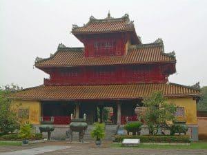administrative building Hue Imperial City