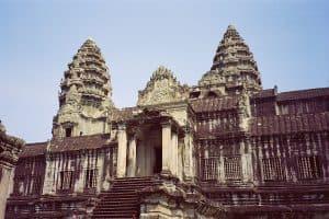 temple visits in Angkor Wat