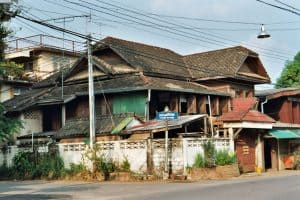 typical house in rural Lampang