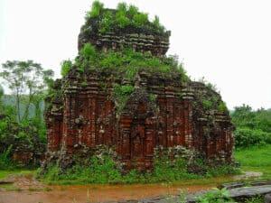 Cham temple ruin near Hoi An