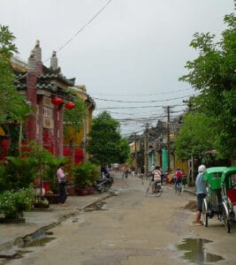 street view of Hoi An