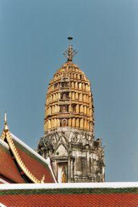 visit to Wat Phra Si Ratana (Wat Yai) temple after taking the rapid train to Phitsanulok