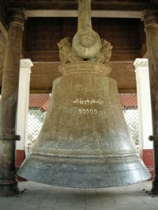 massive 19 tons Mingun bell