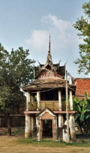 shrine at Wat Yai in Phitsanulok