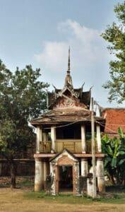 shrine at Wat Yai in Phitsanulok