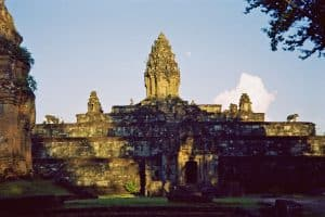 Bakong pagoda as part of Roluos group near Angkor