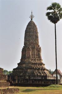 Khmer-style temple at Si Satchanalai historical park