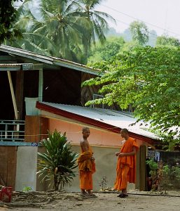 Luang Prabang Buddhist novices