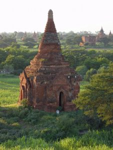 Old Bagan pagoda ruin