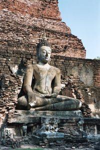 Sukhothai north side Buddha image