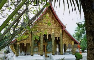 Wat Mahathat temple in Luang Prabang