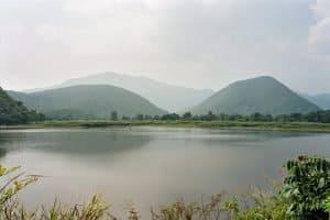 lake near Sukothai historical park