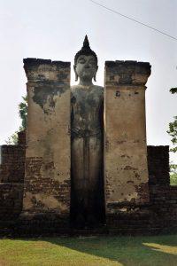 large standing Buddha near Wat Mahathat