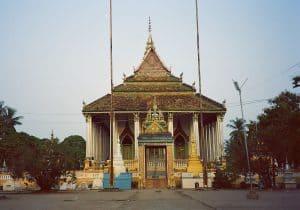 modern temple in Battambang