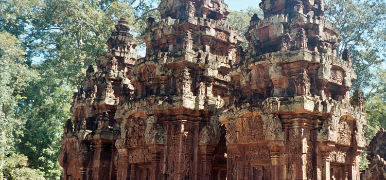 The remote temples of Angkor
