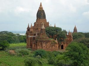 remote temples of Bagan