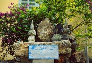 shrine at Museum of Battambang
