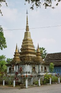 stupa at Wat That Luang