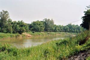 suspension bridge to Si Satchanalai site