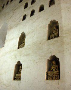Buddha shrines inside Ananda temple