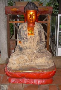 another Buddha statue at Bich Dong pagoda