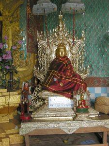 Taung Kalat Buddha image