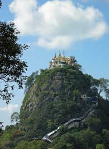 Taung Kalat hill also referred to as Mount Popa
