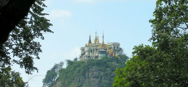 Unexpected trip to Mount Popa