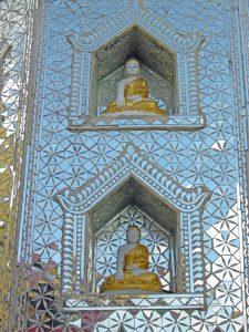 wall shrine at Taung Kalat pilgrimage site