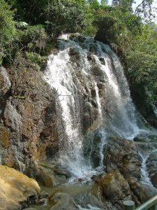 waterfall near Sapa
