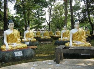 Buddhist lessons in Bago