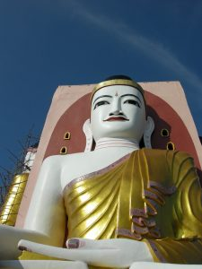 Kyaik Pun (4 Buddhas) pagoda Bago: lessons in Buddhism