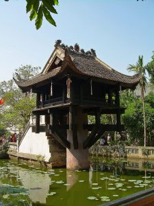 Old Pillar Pagoda in Hanoi