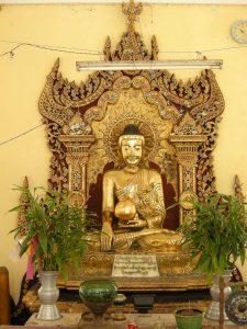 golden Buddha statue Bago