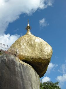 Golden Rock from a different angle