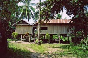 ethnic Lao village in Ratanakiri province