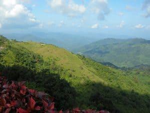 hillside view from Kyaiktyio