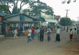 main street of Kinpun