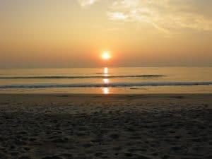 Ngwe Saung sunset