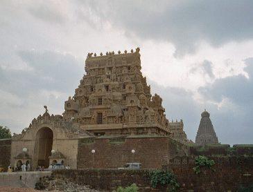 Brihadishvara temple in Thanjavur
